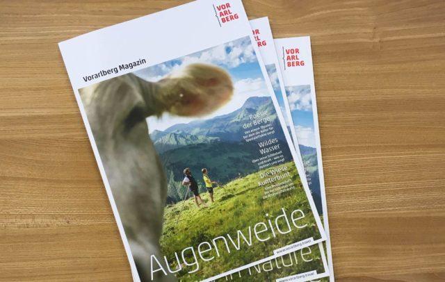Vorarlberg Magazin AUGENWEIDE 2017 (c) Vorarlberg Tourismus GmbH