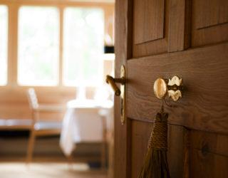 Eingang zur neuen Stube im Hotel Gasthof Krone, Hittisau © Adolf Bereuter / Krone Hittisau