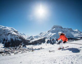Sonnenski, Skigebiet Arlberg, Lech Zürs (c) Christoph Schoech