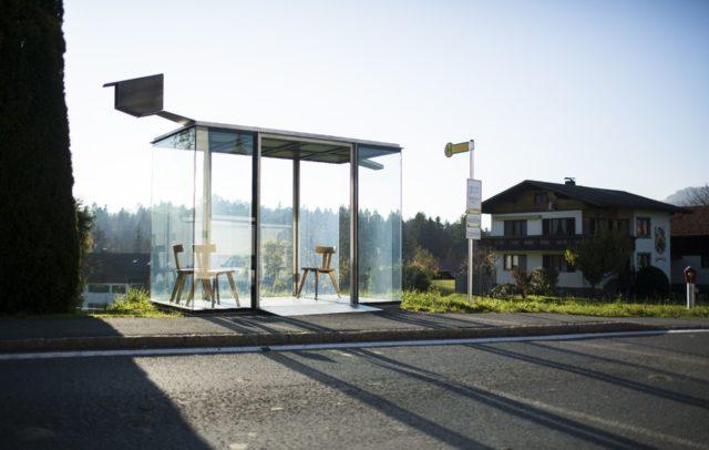 Architektur im Alltag: Bus:Stop Krumbach, (c) Darko Todorovic