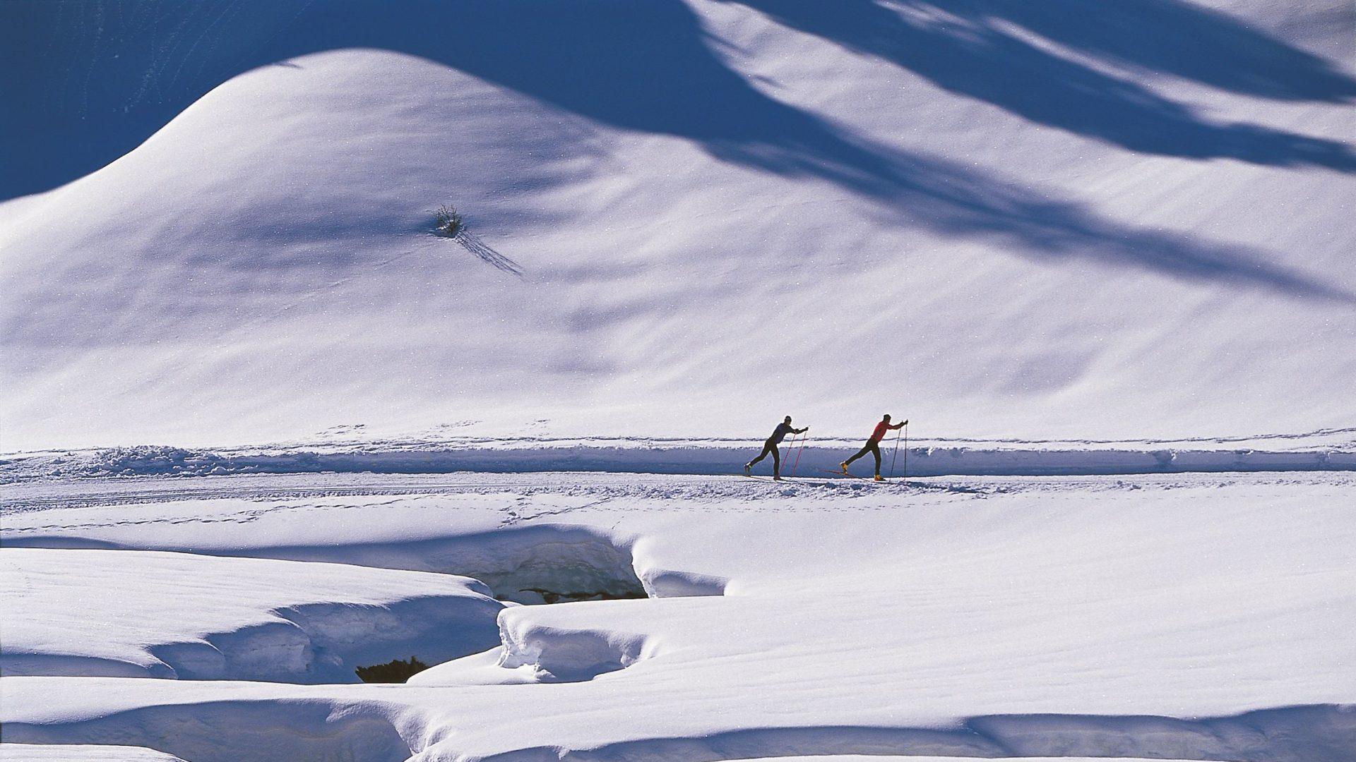 Langlauf im Bregenzerwald (c) Peter Mathis/Bregenzerwald Tourismus (c) Peter Mathis / Bregenzerwald Tourismus