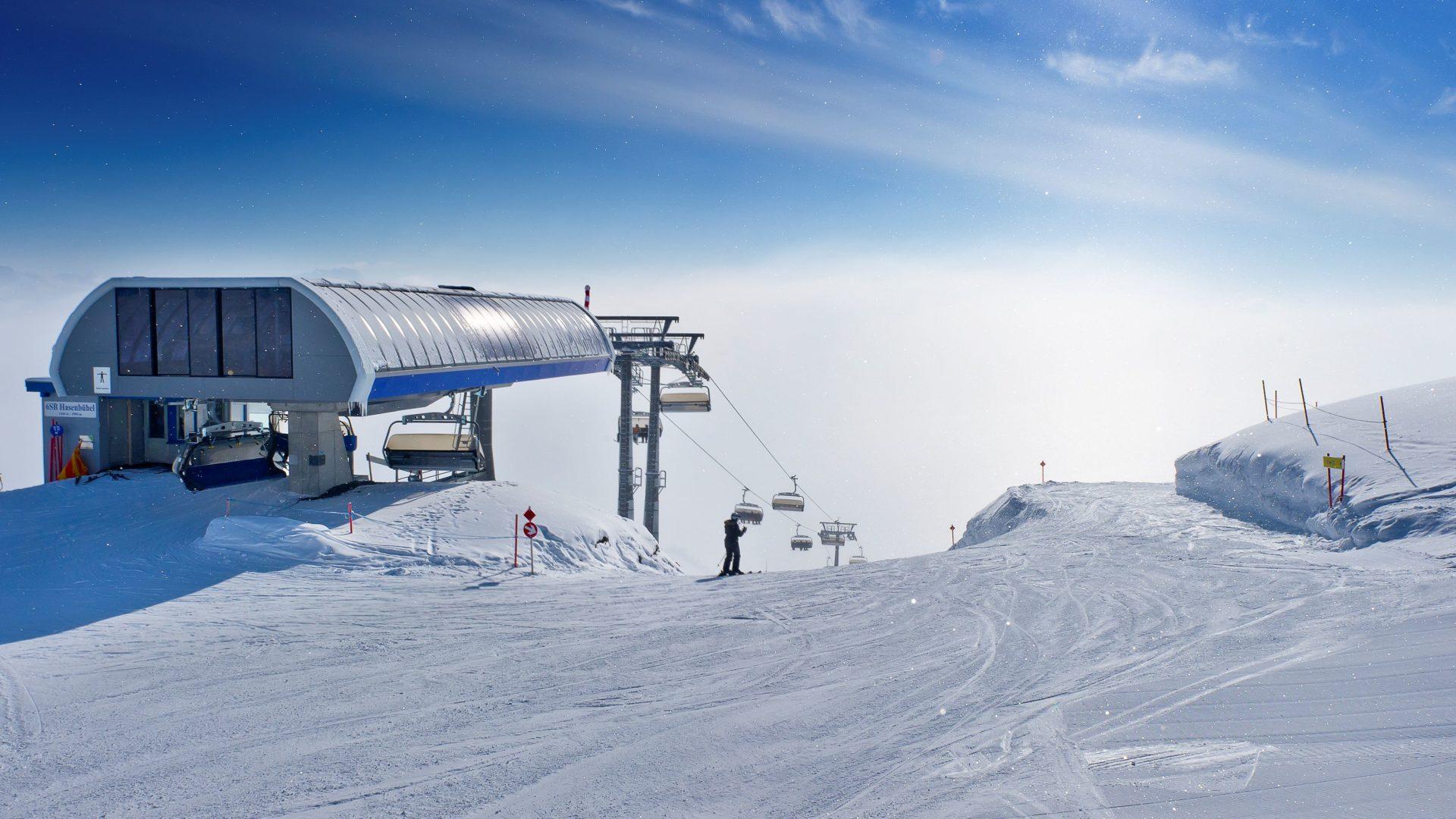 Skigebiete Damüls Faschina, Bregenzerwald, Vorarlberg - Hasenbühellift (c) Damüls Faschina Tourismus / Huber Images