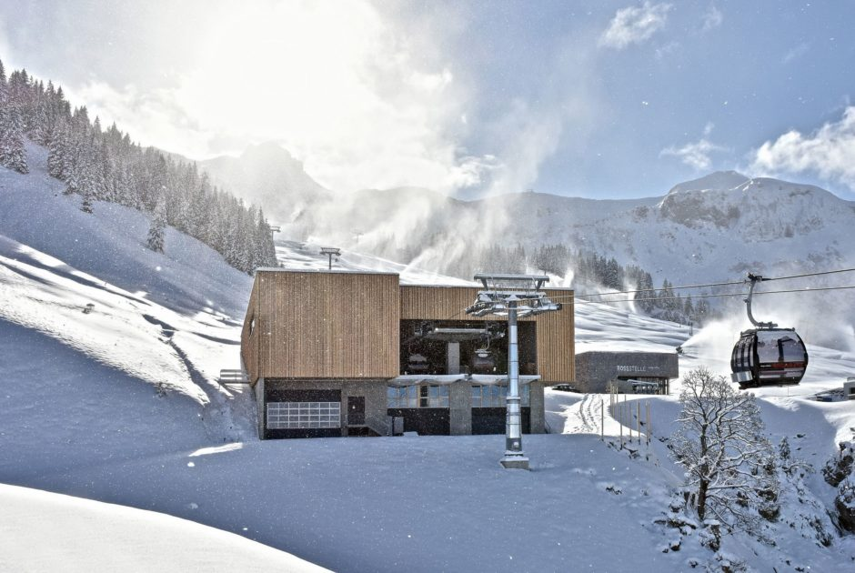 Skigebiete Mellau, Bregenzerwald, Bergstation (c) Lukas Lässer / Mellaubahn
