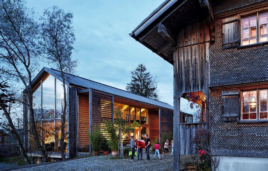 Architektur, Baukunst im Bregenzerwald (c) Adolf Bereuter / Bregenzerwald Tourismus