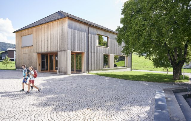 Pfarrhaus in Krumbach (c) Alex Kaiser - Bregenzerwald Tourismus