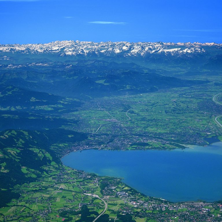 How to reach Vorarlberg, Rheintal, Lake of Constance (c) Thorbecke / Vorarlberg Tourismus