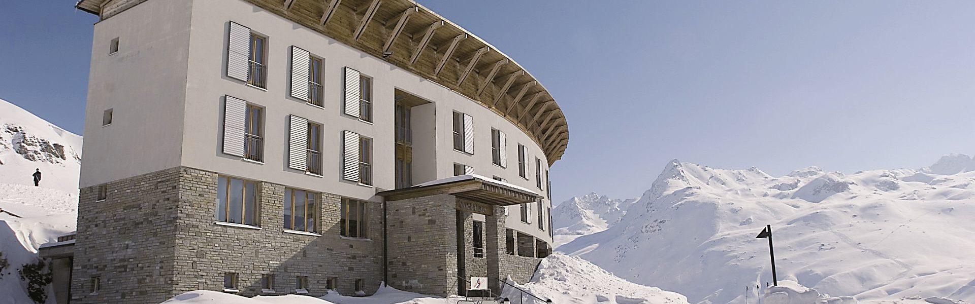 Holiday Architecture - Silvretta-Haus, Bielerhöhe, Vorarlberg, Austria