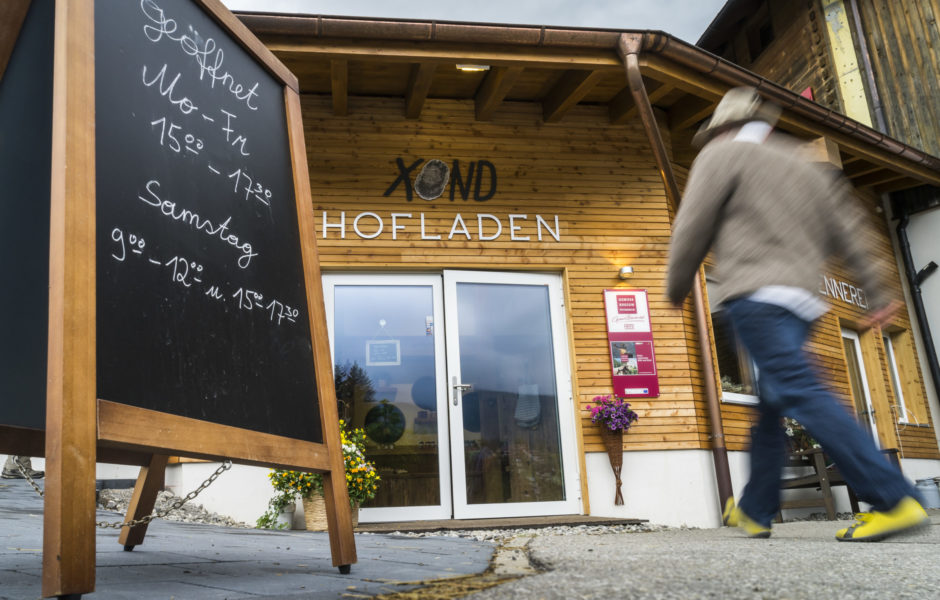 Hofladen Xond, Kleinwalsertal, Riezlern, © Dietmar Denger