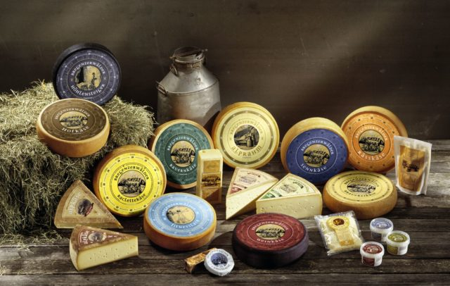 Souvenirs aus Vorarlberg, Käse aus dem Bregenzerwald (c) Bregenzerwälder KäseStrasse