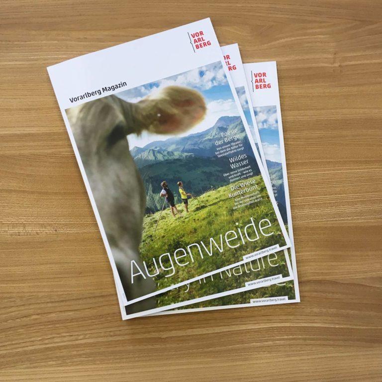 Vorarlberg Magazin Augenweide, Brochures, Catalogues (c) Vorarlberg Tourismus GmbH