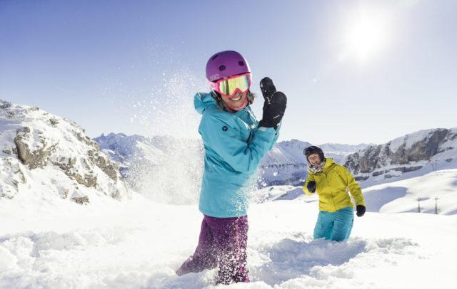 Schneespass am Ifen im Kleinwalsertal © Oliver Farys / Kleinwalsertal Tourismus