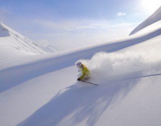 Skifahren im Skigebiet Arlberg © Sepp Mallaun / Lech Zürs Tourismus