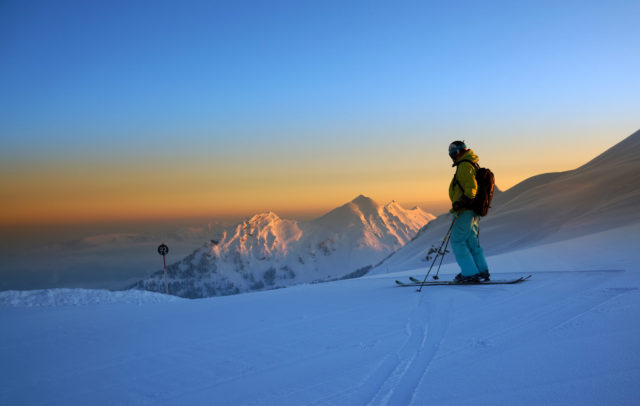 Skifahren im Skigebiet Mellau-Damüls im Bregenzerwald, Urlaubsangebote © Ludwig Berchtold / Bregenzerwald Tourismus