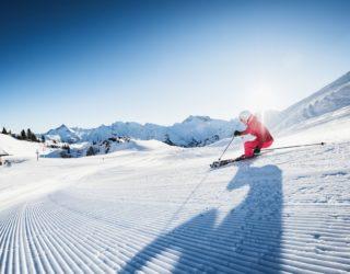 Sonnenski in Lech Zürs am Arlberg (c) Ski Arlberg Pool West