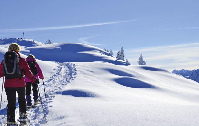 Schneeschuhwandern im Montafon © Ferienhotel Fernblick, Wellnesshotel (c) Ferienhotel Fernblick