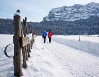 Winterwandern in Mellau, Bezau und Bizau im Bregenzerwald © Ludwig Berchtold / Bregenzerwald Tourismus