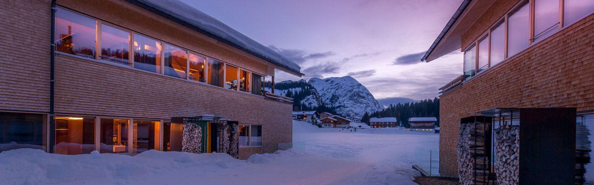 Urlaub und Architektur - Chalet No 685 und 686, Lech, Vorarlberg