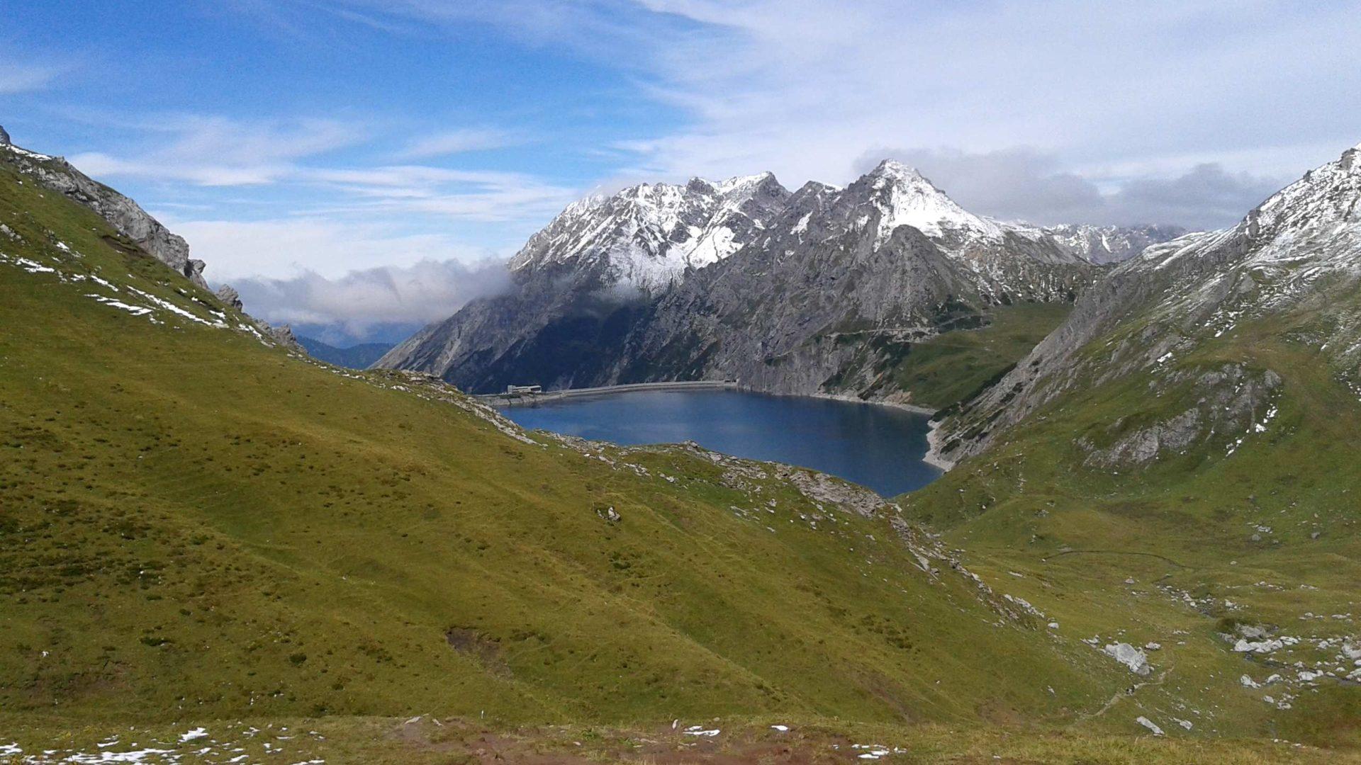 Raetikon, Lünersee, Wandern, Brandnertal im Herbst in Vorarlberg (c) Verena Hetzenauer / Vorarlberg Tourismus