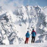 Skifahren in Gargellen, Montafon