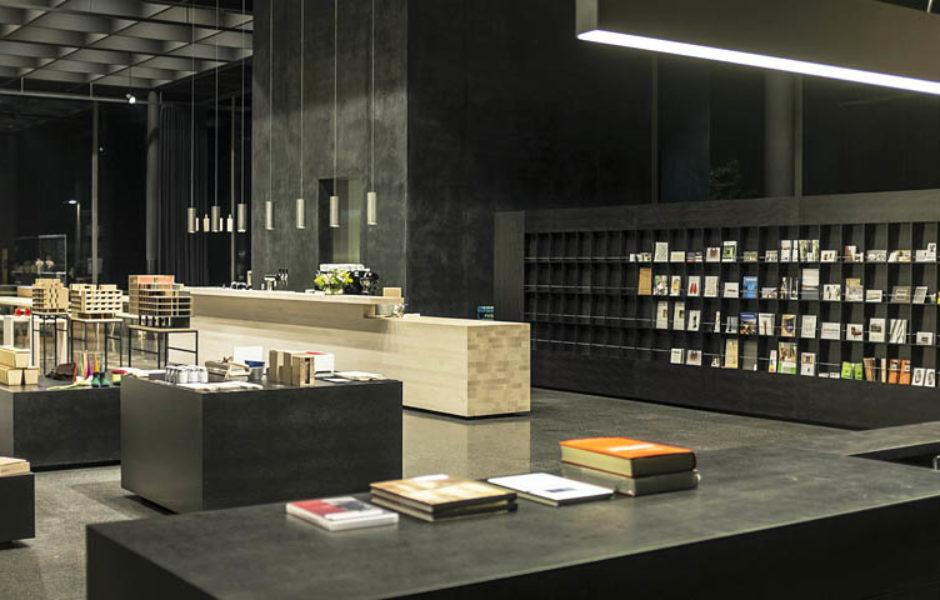 Shop im Werkraumhaus Andelsbuch, Bregenzerwald © Peter Loewy/Werkraum Bregenzerwald