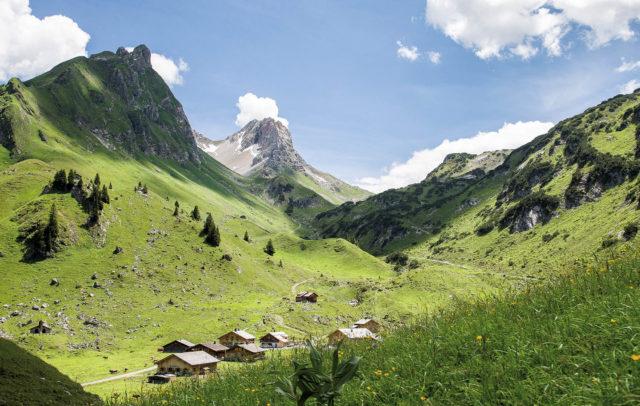 Alpe Laguz im Biosphärenpark Großes Walsertal © walser-image.com