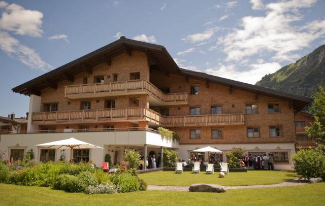 Golfhotel Aurora Lech am Arlberg Außenansicht(c)Hotel Aurora