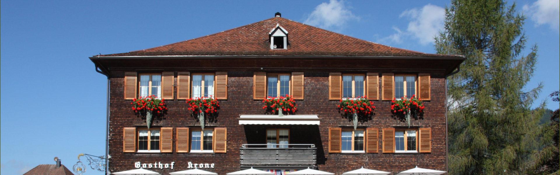 Hotel Gasthof Krone, Golfhotel Hittisau(c)Hotel Krone Hittisau