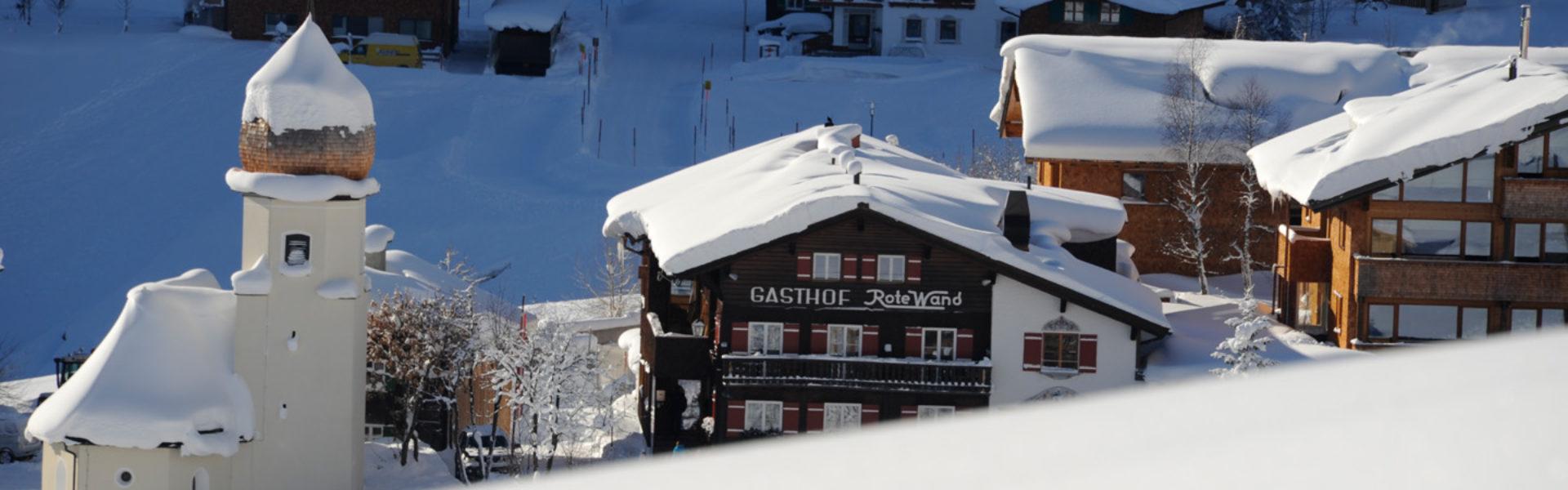 Moderne Gastlichkeit - Rote Wand Alpen Sport Resort, Zug-Lech © Rote Wand