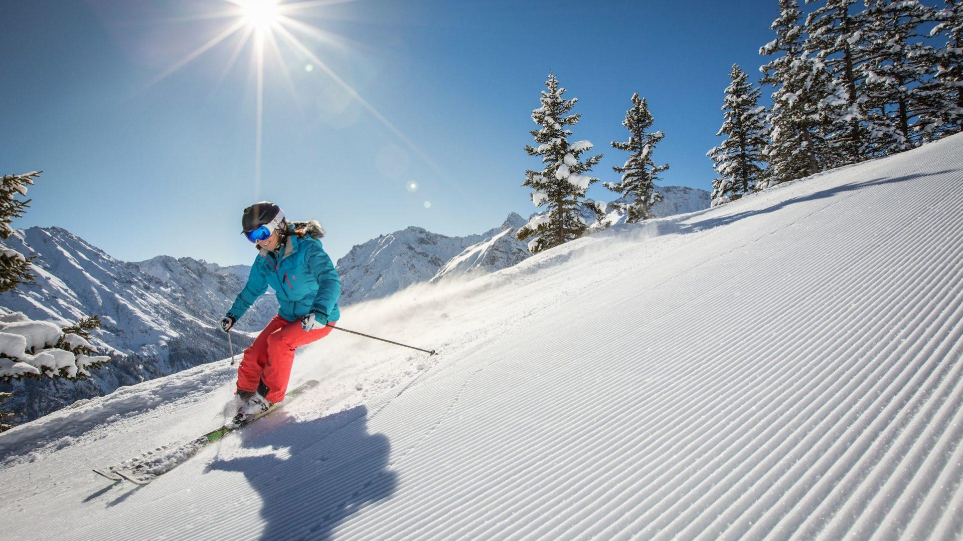 Skifahren im Brandnertal, Vorarlberg (c) Michael Marte, Bergbahnen Brandnertal