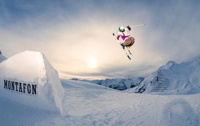 Snowpark Montafon, Philipp Tschanhenz © Silvretta Montafon