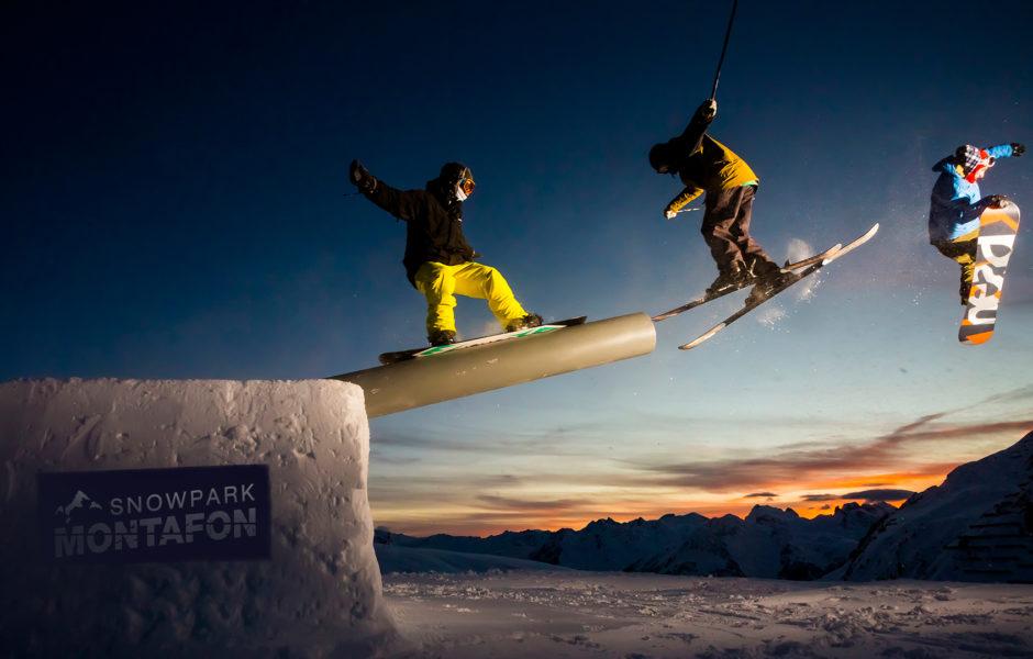Snowpark Montafon © Silvretta Montafon