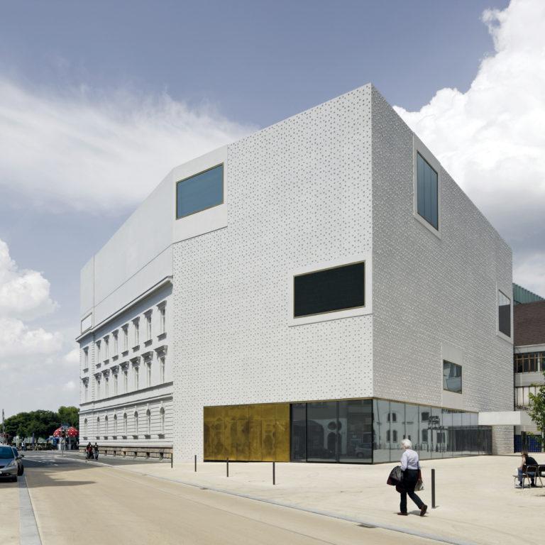 Vorarlberg Museum, Kornmarkt, Bregenz am Bodensee (c) Hanspeter Schiess