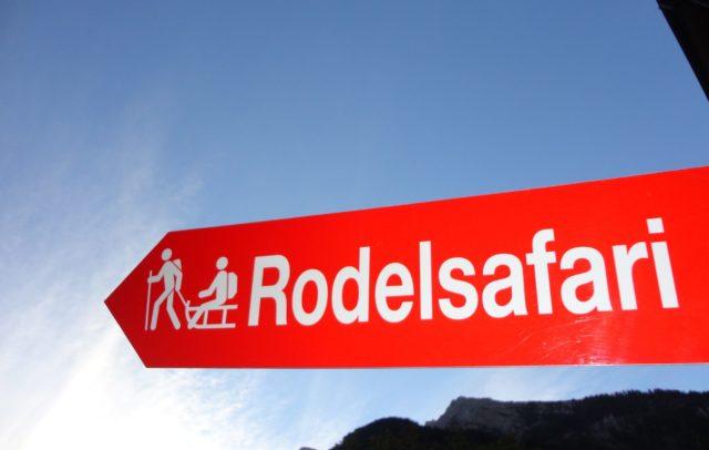 Rodelsafari Brandnertal
