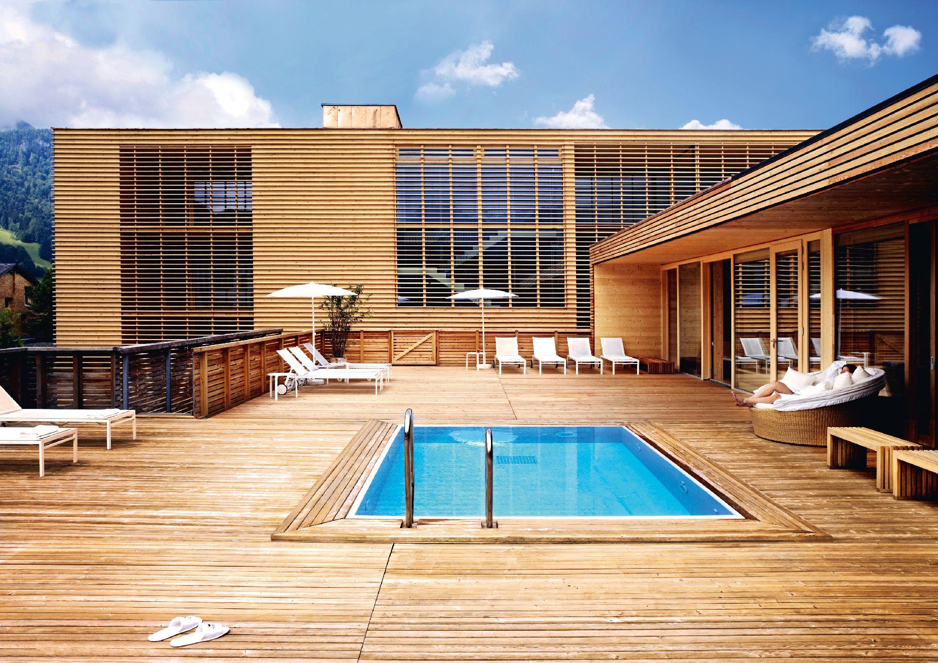 urlaub und architektur hotel post bezau bregenzerwald. Black Bedroom Furniture Sets. Home Design Ideas