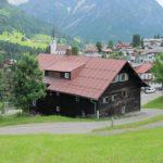 Altes Gemeindehaus von der Oberseitestraße gesehen