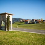 BUS:STOP Krumbach, Haltestelle Oberkrumbach