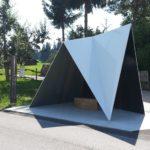 BUS:STOP Unterkrumbach Süd von den Architecten de Vylder Vinck Taillieu (Belgien)