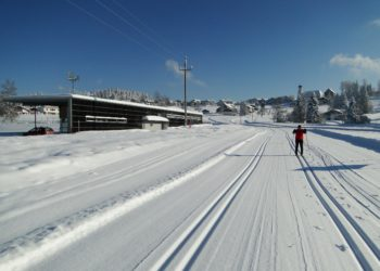 Der Nordic Sport Park in Sulzberg mit 20 km Loipen