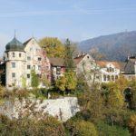 Die Oberstadt von Bregenz