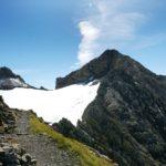 Gletscher am Gipfel der Roten Wand (aufgenommen 2008)