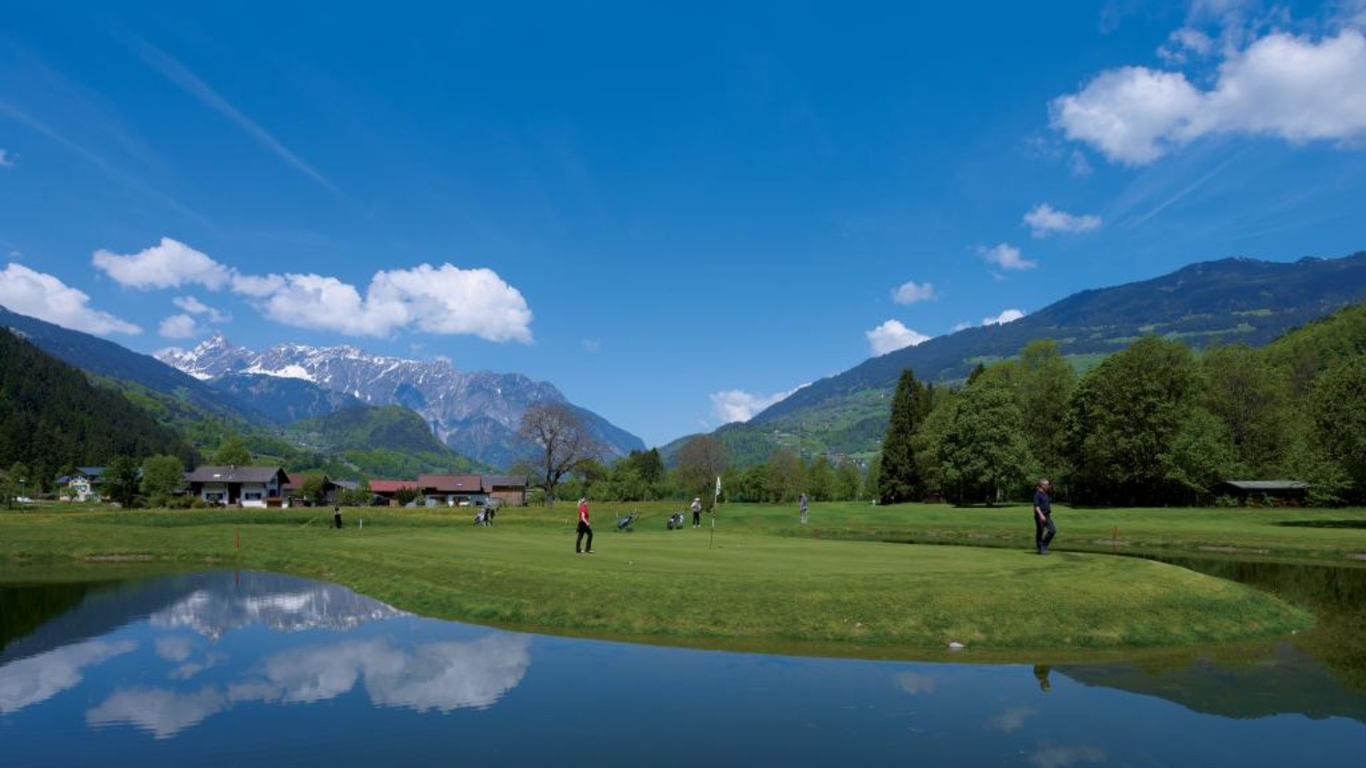 Golfen in der Montafoner Bergwelt