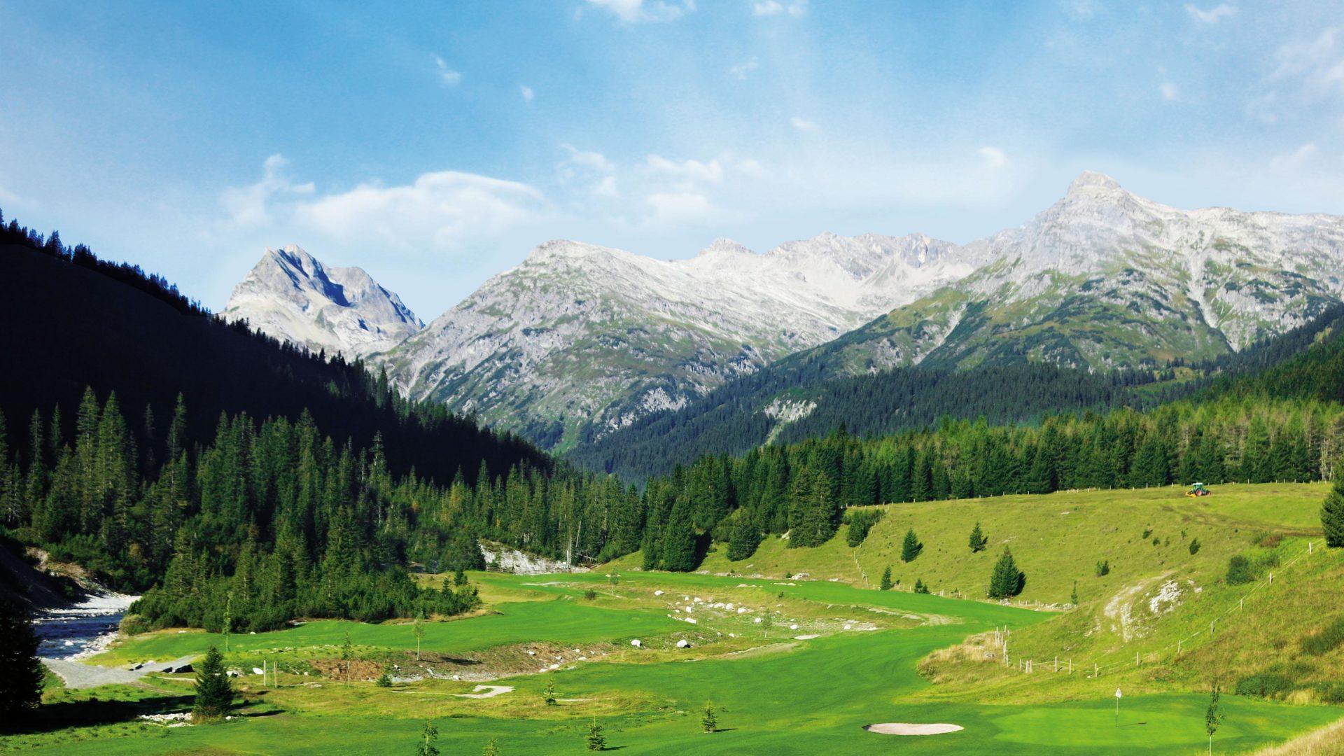Golfplatz GC Lech-Arlberg - Golf Vorarlberg