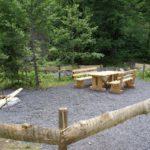 Grillplatz beim Abenteuerpark