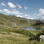 Hochtannbergpass mit Kalbelesee und Simmel