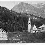 Schröcken mit Pfarrkirche