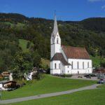 Silbertal, Katholische Pfarrkirche Heilige Josef und Nikolaus mit Friedhof 8