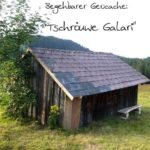 Tschröuwe Galari: Begehbarer Geocache im Naturschutzgebiet