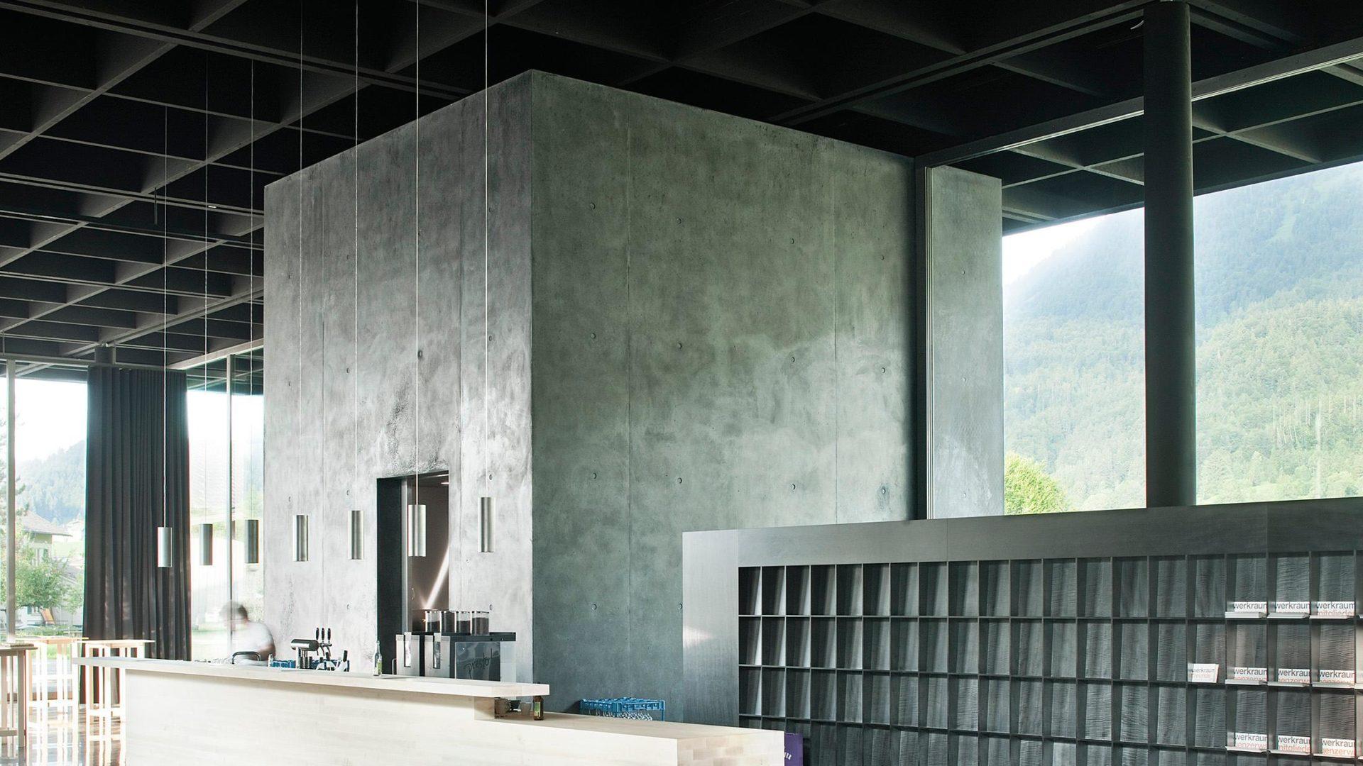 The Werkraumhaus In Andelsbuch Built By Architect Peter Zumthor