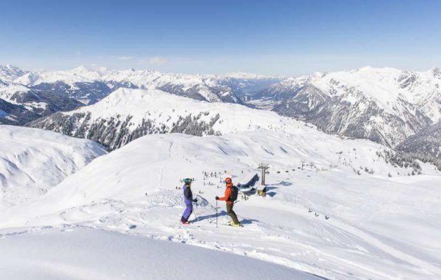 Skifahren am Sonnenkopf, Klostertal (c) Alex Kaiser / Alpenregion Bludenz Tourismus