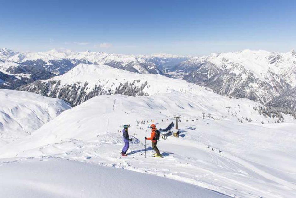 Skifahren am Sonnenkopf (c) Alex Kaiser / Alpenregion Bludenz Tourismus GmbH